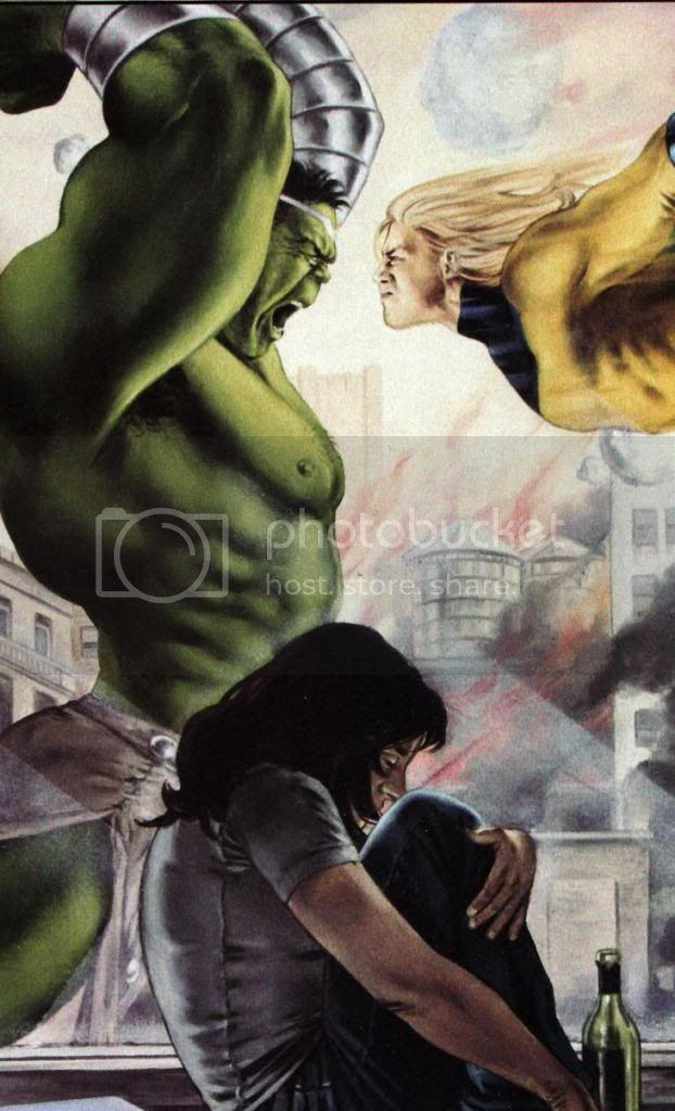Hulk vs Sentinela