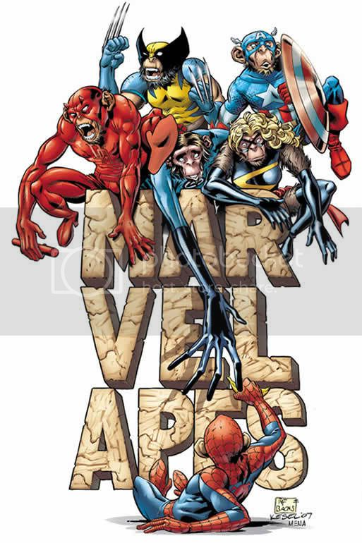 Marvel Apes