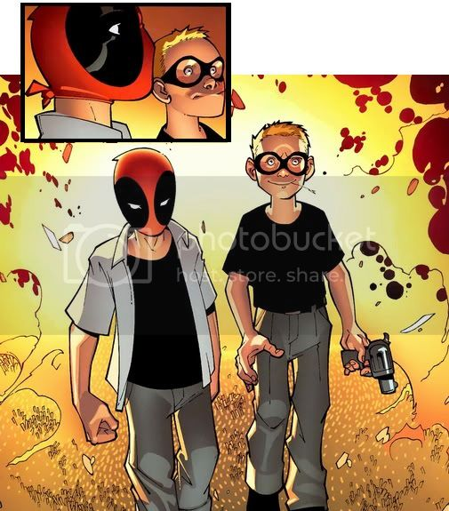 Mercenrio vs Deadpool